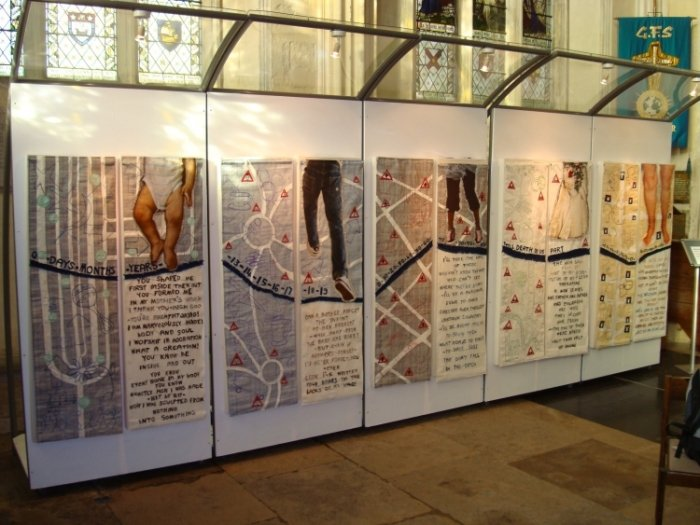 Rites of Passage Exhibit at Rochester Cathedral